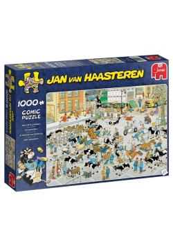Puzzle 1000 Haasteren Giełda zwierząt G3