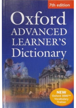 Oxford Advanced Learner's Dictionary plus CD