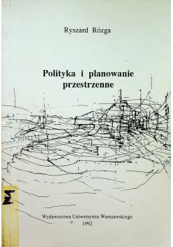 Polityka i planowanie przestrzenne