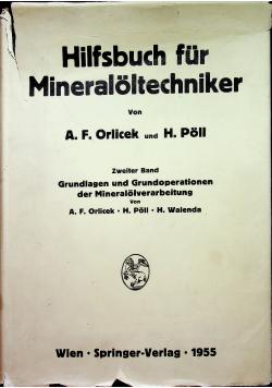 Hilfsbuch fur Mineraloltechniker