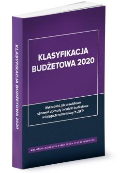 Klasyfikacja budżetowa 2020