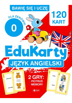 """EduKarty. Język angielski dla """"zerówki"""""""