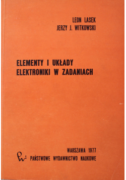 Elementy i układy elektroniki w zadaniach