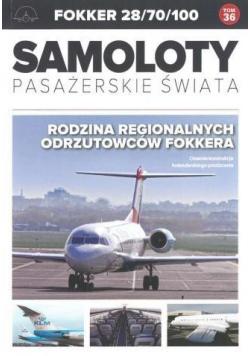 Samoloty pasażerskie świata T.36 Fooker 28/70/100