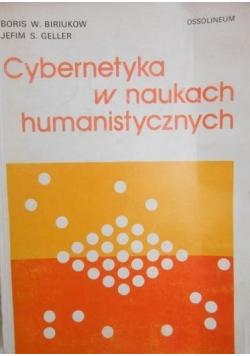 Cybernetyka w naukach humanistycznych