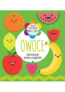 Moja pierwsza książka Owoce. Słowniczek pol-ang