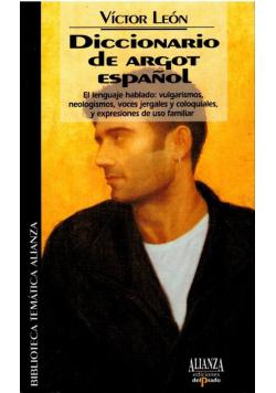 Diccionario de argot espanol