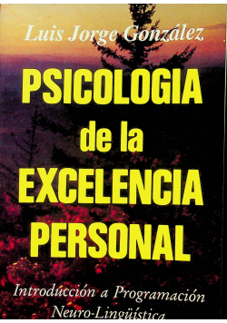 Psichologia de la excelencia personal