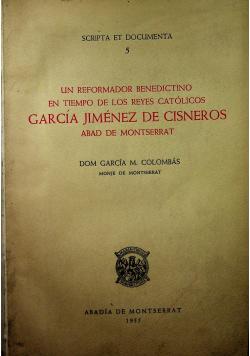 Garcia Jimenes de cisneros