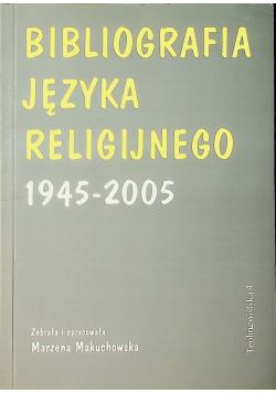 Bibliografia języka religijnego 1945 2005