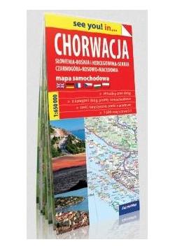 See you! in...Chorwacja 1:650 000 mapa w.2019