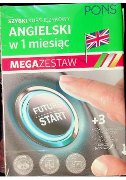 Szybki kurs językowy angielski w 1 miesiąc mega zestaw