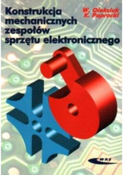 Konstrukcja mechanicznych zespołów sprzętu elektronicznego