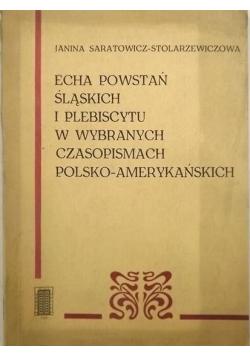 Echa powstań śląskich i plebiscytu w wybranych czasopismach polsko amerykańskich