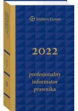 Profesjonalny Informator Prawnika 2022 Granatowy