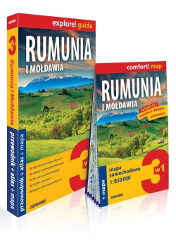 Explore! guide Rumunia i Mołdawia 3w1 w.2019
