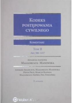 Kodeks postępowania cywilnego Komentarz Tom II