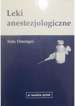 Leki anestezjologiczne