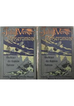Abenteuer Des Kapitan Hatteras 2 tomy 1900 r.