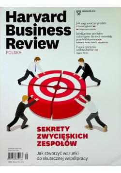 Harvard Business Review nr 9  Sekrety zwycięskich zespołów