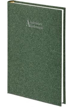 Kalendarz akademicki A5 2021/2022 Natura zielony
