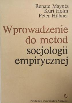 Wprowadzenie do metod socjologii empirycznej