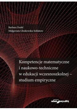 Kompetencje matematyczne i naukowo-techniczne...