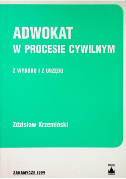Adwokat w procesie cywilnym