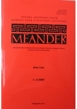 Meander rok LXIII