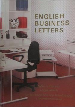 English Business Letters Wzory listów angielskich w korespondencji handlowej z tłumaczeniami