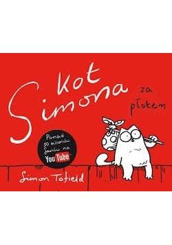 Kot Simona za płotem