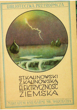 Elektryczność ziemska 1933 r