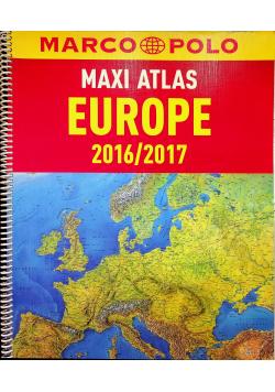 Europa 2016 2017 Maxi Atlas