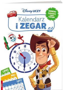 Disney Uczy. Filmy. Kalendarz i zegar