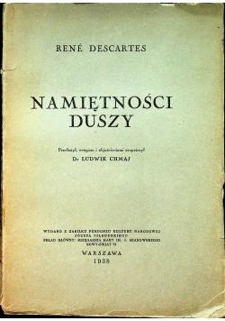 Namiętności duszy 1938 r
