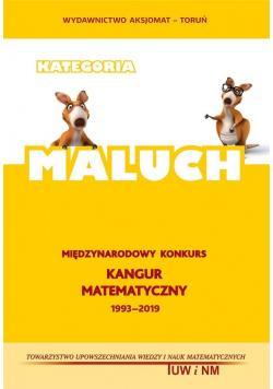 Matematyka z wesołym Kangurem. Poziom MALUCH 2019