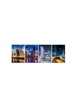 Brulion A5/96K kratka City lights (5szt)
