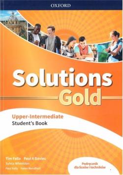 Solutions Gold Upper- Intermediate SB OXFORD
