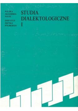 Studia Dialektologiczne I
