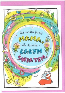 Karnet B6 Motywacyjny - Mama