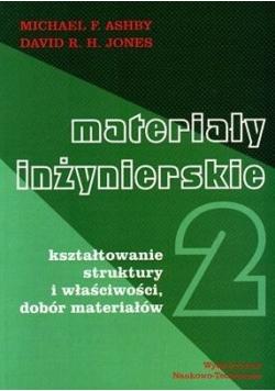 Materiały inżynierskie Kształtowanie struktury i właściwości dobór materiałów