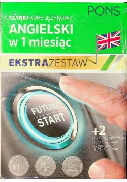 Szybki kurs angielskiego w 1 miesiąc Ekstra zestaw