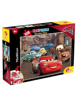 Puzzle dwustronne Maxi 108 Auta