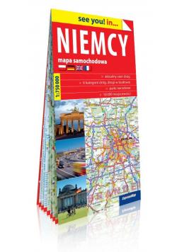 See you! in... Niemcy 1:750 000 mapa samochodowa