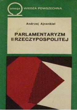 Parlamentaryzm II Rzeczypospolitej