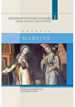 Kazania w Kulturze Polskiej T.1 Kazania maryjne