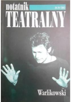 Notatnik Teatralny nr 28 i 29