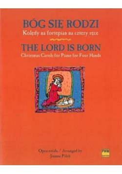 Bóg się rodzi. Kolędy na fortepian na cztery ręce