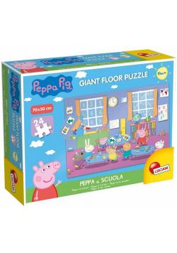 Puzzle 24 Gigant - Świnka Peppa