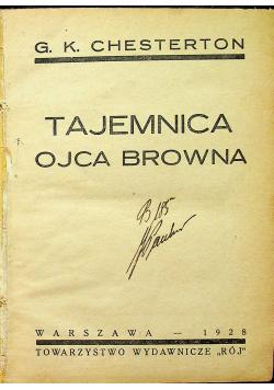 Tajemnica Ojca Browna 1928 r.